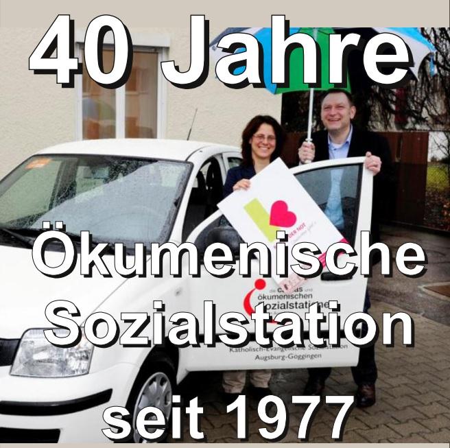 40 Jahre Ökumenische Sozialstation Augsburg-Göggingen