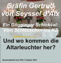 Gräfin Gertrud von Seyssel und die Altarleuchter