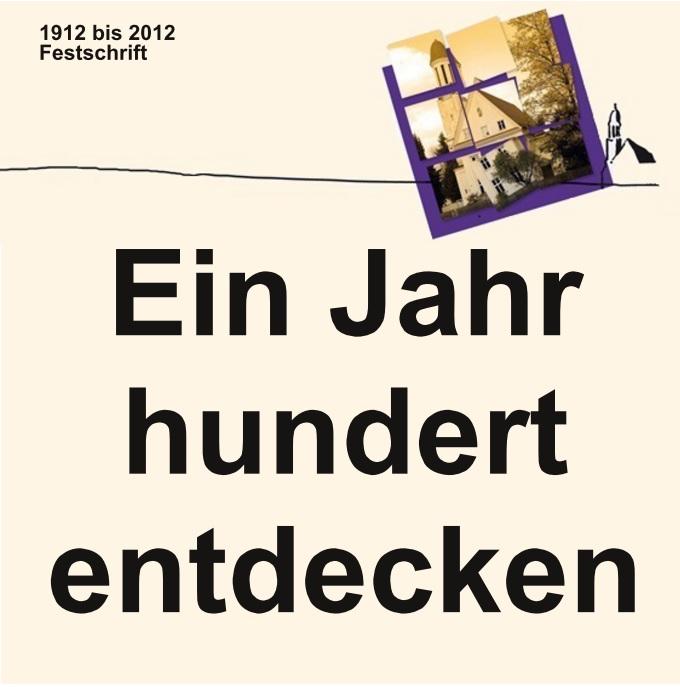 100 Jahre Evangelische Dreifaltigkeitskirche Augsburg Göggingen