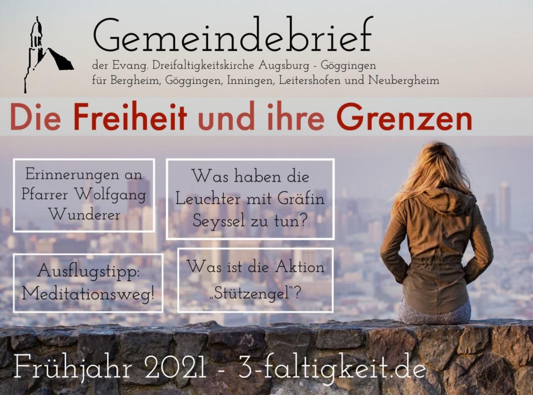 Gemeindebrief - Frühjahr 2021
