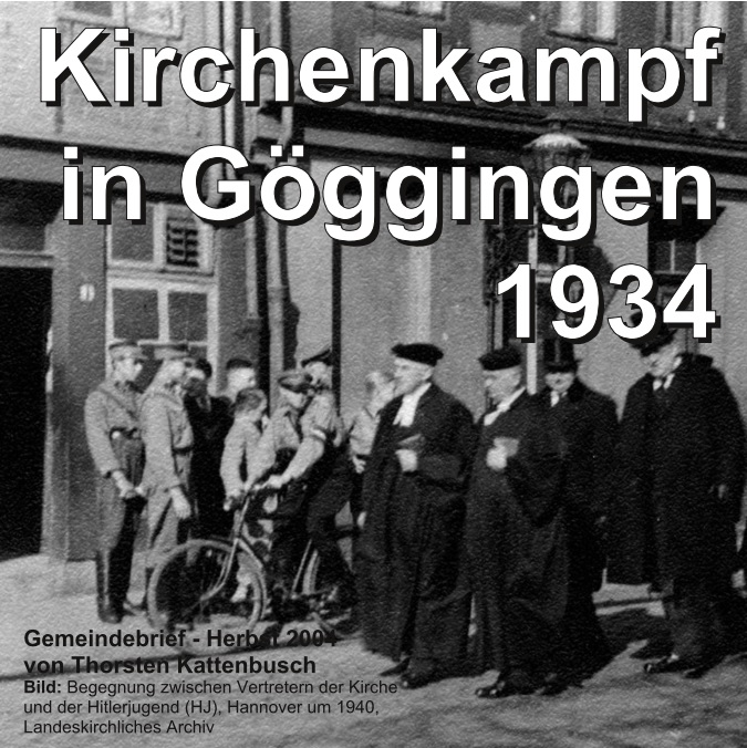 Kirchenkampf in Göggingen