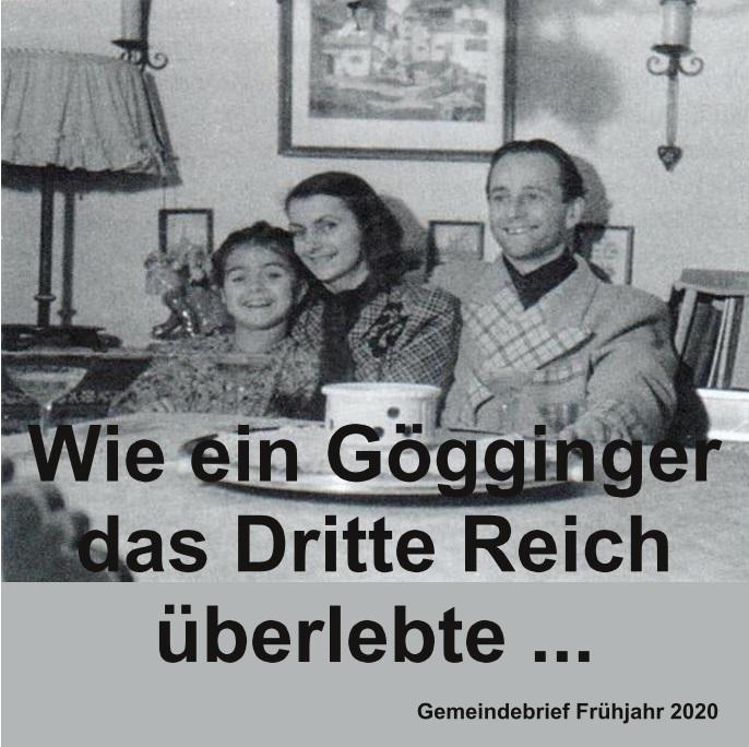 Wie ein Gögginger das Dritte Reich überlebte