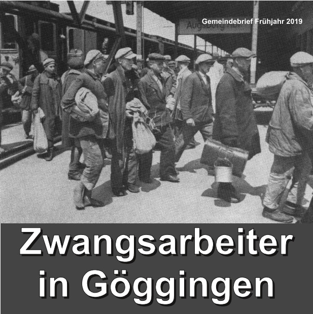 Zwangsarbeit in Göggingen