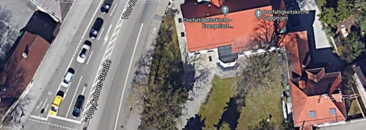 Luftbild Dreifaltigkeitskirche