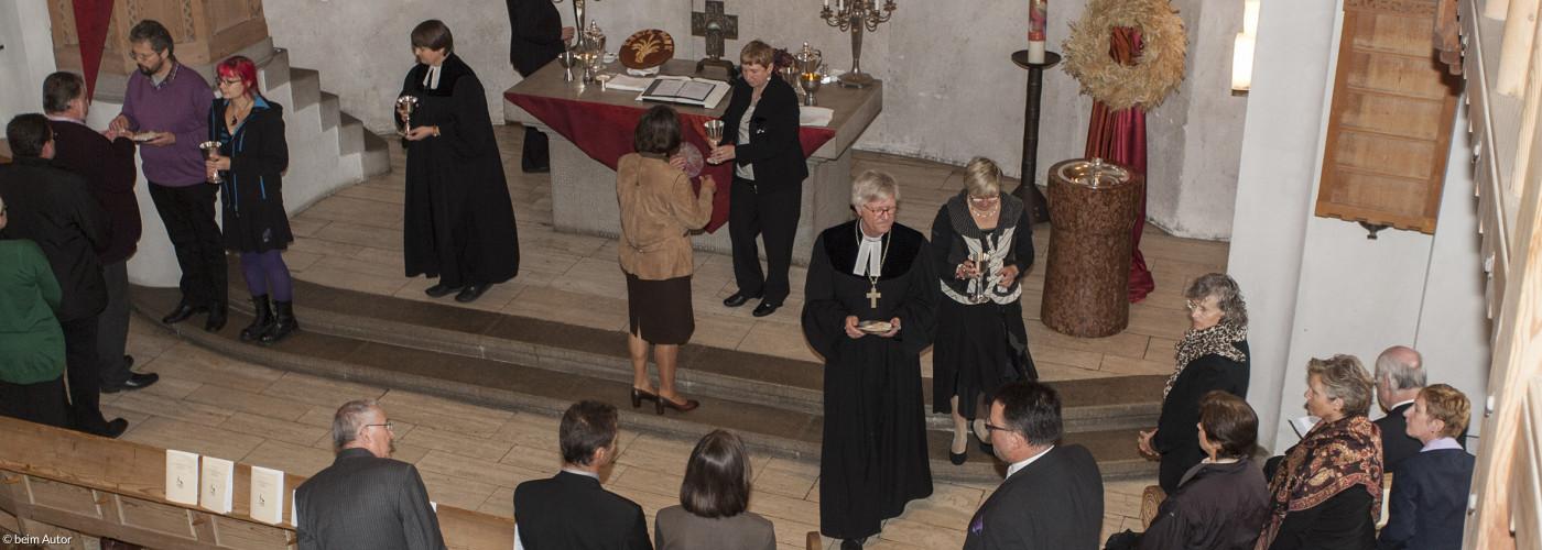Gottesdienst mit Abendmahl und Landesbischof